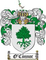 O'CONNOR FAMILY CREST - COAT OF ARMS