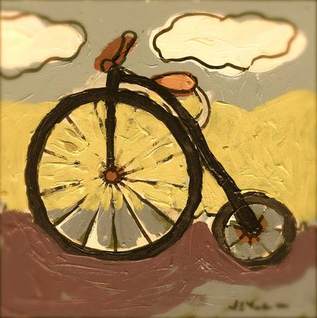 Jack's Bicycle Vignette by Jennifer Lommers