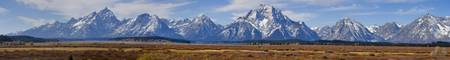 The Grand Tetons Panorama