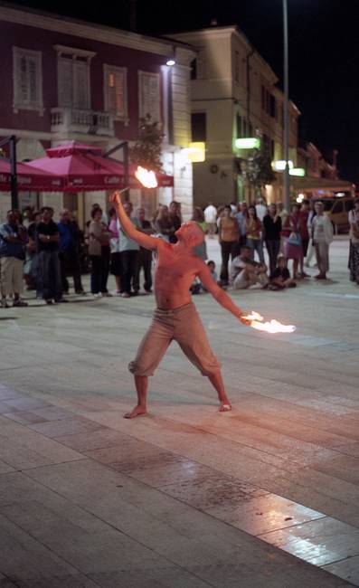 Fire Breathers in Croatia