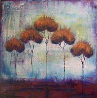autumn fire by Kristen Stein