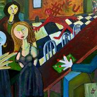 The Night She Said No Art Prints & Posters by John Nadon