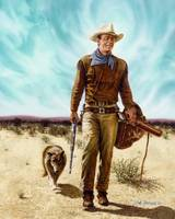 John Wayne with Dog