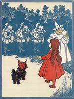 The Wizard of Oz: Dorothy meets the Munchkins