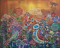 Enchanted Garden : 2 Whimsy Birds by Kristen Stein