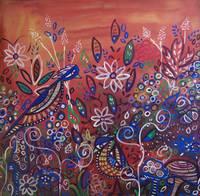 Enchanted Garden : Feathered Friends by Kristen Stein