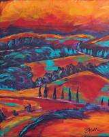 fauvist tuscany 1 by Kristen Stein