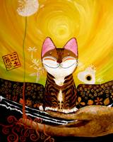cat-art-catmasutra-earth-5-elements