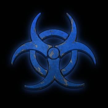 Biohazard Blue By Monica Christensen