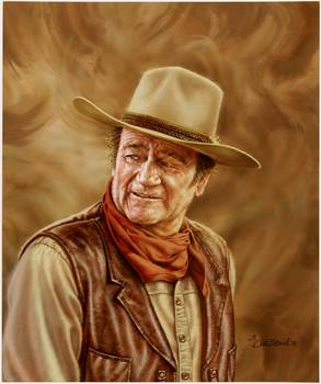 John Wayne By Dick Bobnick