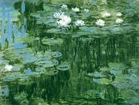Water Lillies 1918 by Claude Monet