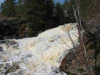 Big Northern Ontario Waterfall
