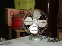 Vintage Fan in the Basement 1157