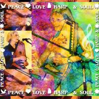 Peace Love Harp & Soul by Faye Cummings