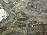 Sheffield from the Air (Park Square)