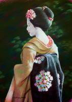 Geisha in the Garden