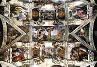 Fresco in the Sistine chapel
