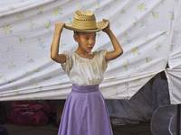 Girl Dancer with Hat, Santa Fe