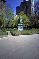 Statue of Goethe, Frankfurt-am-Main by Priscilla Turner