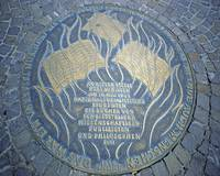 Memorial, City Centre, Frankfurt-am-Main by Priscilla Turner