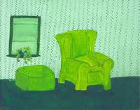 Old Green Chair