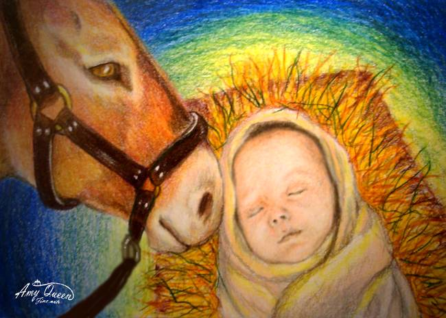 stunning jesus colored pencil drawings and illustrations for sale