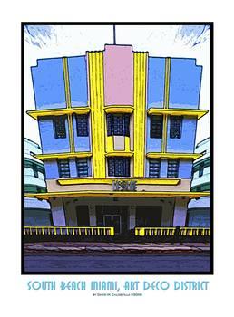 Art Deco Miami Beach Small Room