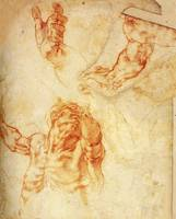 Study for the Figure of Haman