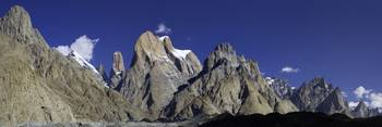 Trango Towers Panorama