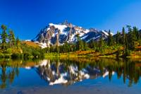 Mount Shuksan in Autumn