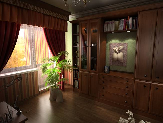 Lifecasting visualisation interior