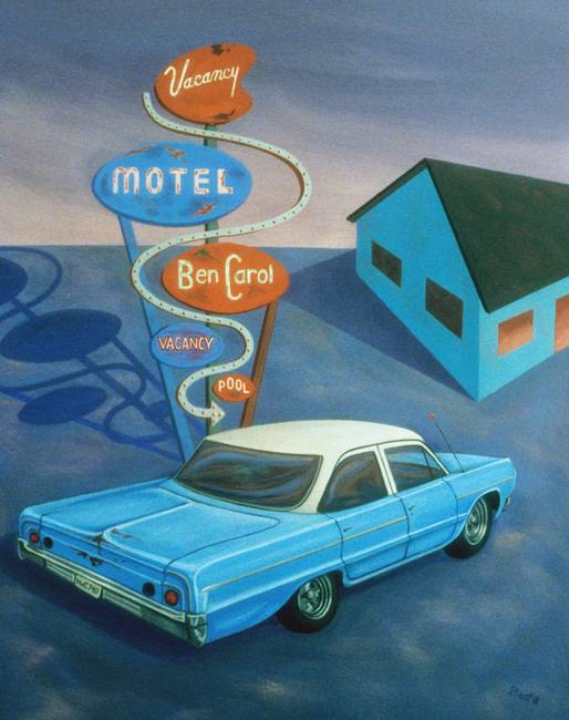 Paintings - Ben Carol Motel