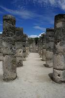Chichen Itza Pillars
