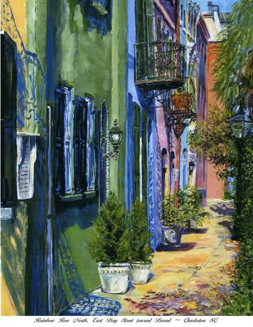 b98e927cd55 Rainbow Row North-Charleston SC by Deborah Reeves
