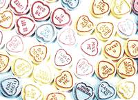Love Hearts Sweets - Valentines Day