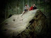My little rock climbers