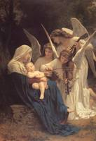 Bouguereau Song of the Angels