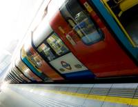 Tube in the light (London Tube)