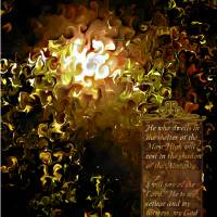 Psalms 91 Art Prints & Posters by Sandra Jean