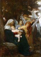 Bouguereau William  Study for Vierge aux anges
