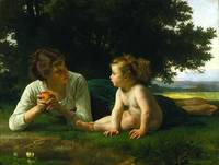 Bouguereau William Temptation 1880
