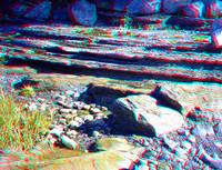 layered  rock 3D