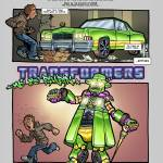 TRANSFORMERS - We be pimpin' Prints & Posters