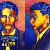 """Frank Sinatra Mug Shot"" by RamosStudios"