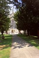 Winchester Cathedral 12 by Priscilla Turner