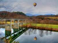 balloon on The James