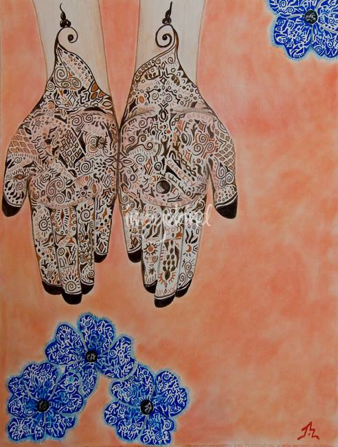 Mehndi For Sale : Stunning quot mehndi drawings and illustrations for sale on