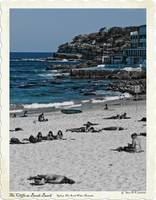 Cliffs at Bondi Beach