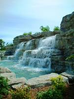 Waterfall at Casino Rama