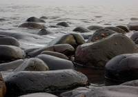 Boulders on the beach0001